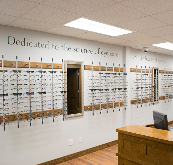 Chilton Family Eye Care Interior