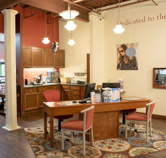 New Holstein Family Eye Care Interior