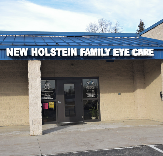 New Holstein Family Eye Care Exterior
