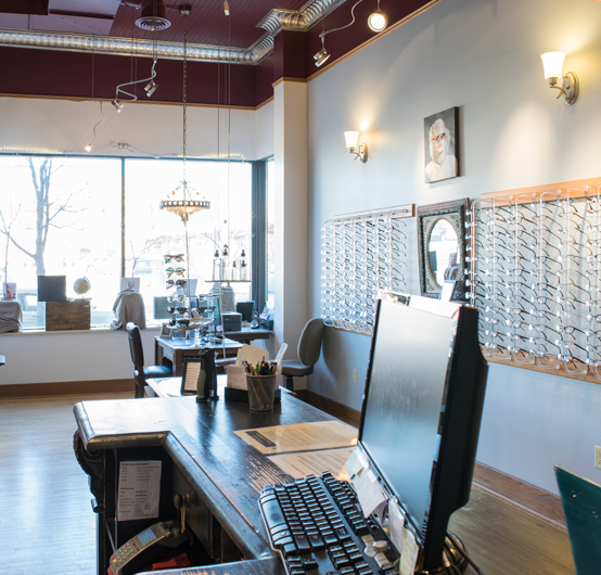 Visionary Eye Care Interior